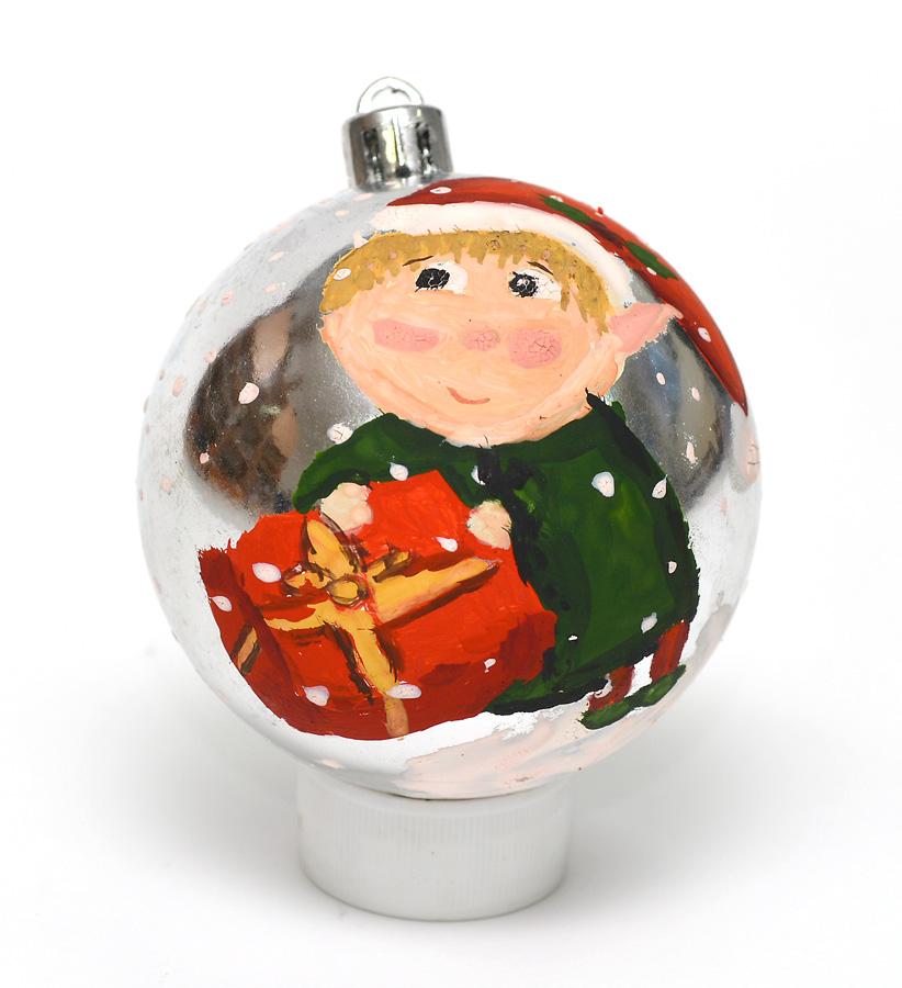 Новогодний шарик на конкурс