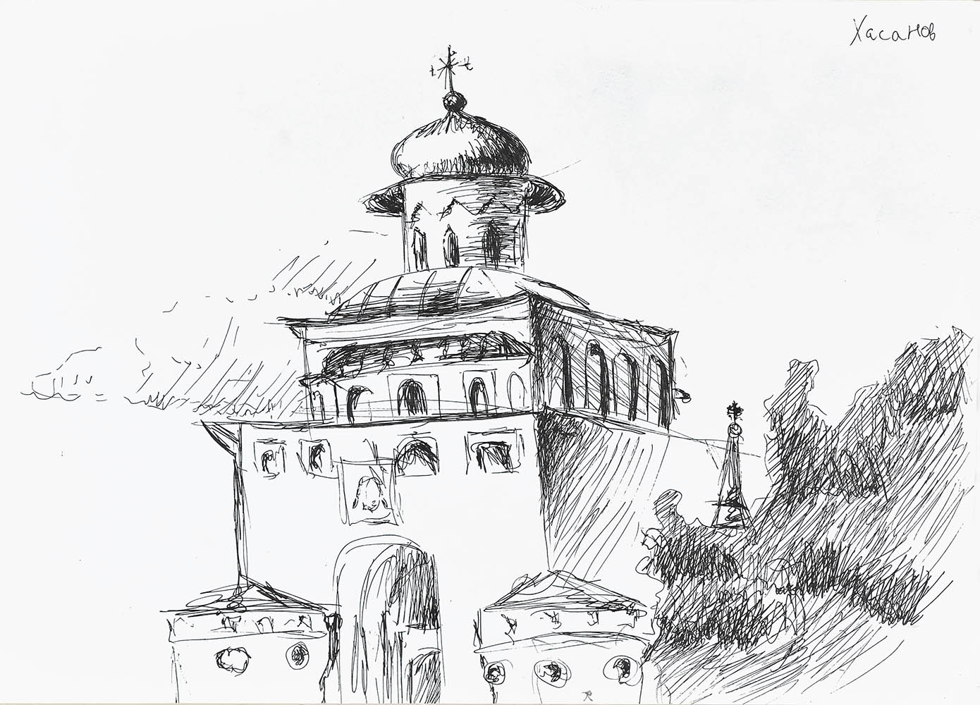 ДШИ №13 Ижевск Пленэр