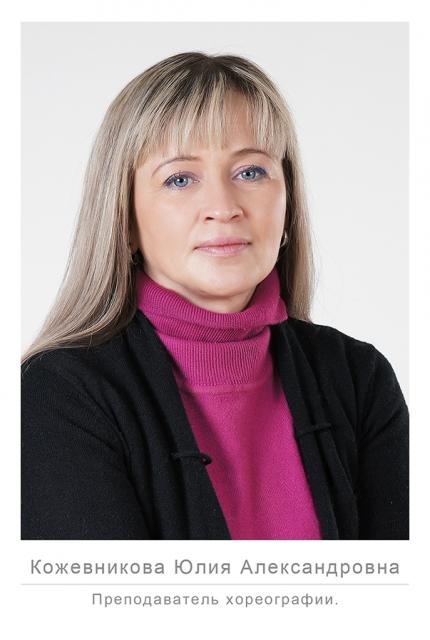 Кожевникова Юлия Александровна. Преподаватель сценической практики, ансамбля. ДШИ № 13, Ижевск.