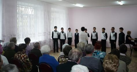 ДШИ №13, г. Ижевск. Концерт в ЦСО №4.